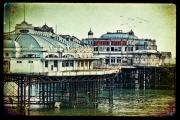 Brighton Pier Posters - The Old Victorian West Pier Poster by Chris Lord