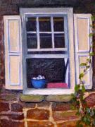 Kitchen Window Paintings - The Old Window by Marita McVeigh