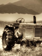 Oliver Tractor Framed Prints - The Oliver Framed Print by Megan Chambers
