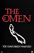 1970s Poster Art Framed Prints - The Omen, Poster, 1976 Framed Print by Everett