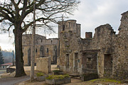 Grave Photos - The once grand town of Oradour by Georgia Fowler