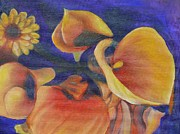 Canna Paintings - The Only One by Terri Thompson