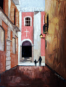 Christian Art Prints - The Open Door Print by Anthony Falbo