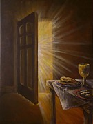 Rays Paintings - The Open Door by Deborah Smith