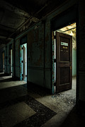 Abandoned Building Prints - The Open Doors Print by Gary Heller