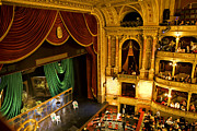 Opera House Photos - The Opera House Of Budapest by Madeline Ellis