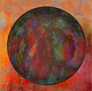 Violet Mixed Media Posters - The Orb Poster by Dave Gordon