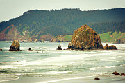 Oregon Art - The Oregon Coast by Kerry Langel