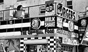 Original For Sale Photo Framed Prints - The Original Food Framed Print by John Rizzuto