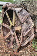 Rusty Tractor Tires Acrylic Prints - The Original Mudder Acrylic Print by JC Findley