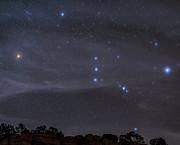 The Orion Constellation Rises Print by John Davis