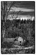 Outbuilding Framed Prints - The Orting Barn Framed Print by David Patterson
