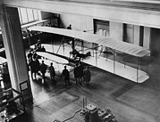 Bh History Framed Prints - The Orville Wright Plane On Exhibition Framed Print by Everett