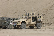 Mrap Photos - The Oshkosh M-atv Mrap by Terry Moore
