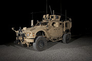 Armor Photos - The Oshkosh M-atv by Terry Moore