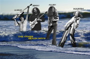 Allen Collins Posters - The Other Beach Boys Poster by Ben Upham