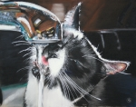 New Art Pastels Prints - The Other Ellie Print by Paul Autodore