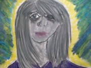 Depression Pastels - The Other girl by Katie-Marie OConnor