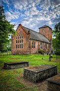 The Other Side Of St Lukes Print by Williams-Cairns Photography LLC