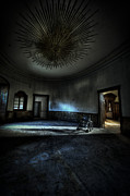 Haunted House Photo Posters - The oval star room Poster by Nathan Wright