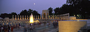 War Monuments And Shrines Prints - The Pacific Pavilion And Pillars Print by Richard Nowitz