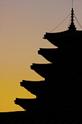 South Korea Prints - The Pagoda At Gyeongbukgong In Seoul Print by Photography by Simon Bond