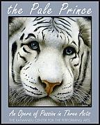 Tiger Painting Framed Prints - The Pale Prince... Framed Print by Will Bullas