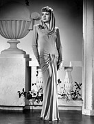 Long Sleeved Dress Photo Posters - The Palm Beach Story, Claudette Poster by Everett