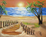 Toni  Thorne - The Palm Tree Beach