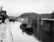 Ev-in Framed Prints - The Panama Canal, Circa 1913 Framed Print by Everett