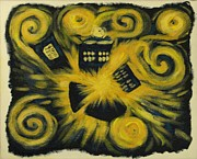 Bang Paintings - The Pandorica Opens by Lauren Cawthron