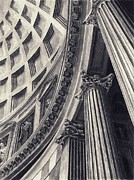 The Pantheon Print by Norman Bean