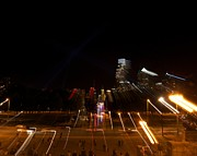 Benjamin Franklin Parkway Photos - The Parkway with a Twist by Shawn Colborn