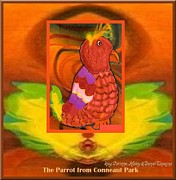 Never Ending Love Posters - The Parrot from Conneaut Lake Park Poster by Ray Corinne Haley Daniel Tapajna