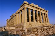 Parthenon Photos - The Parthenon, Its Ancient Colonnades by Todd Gipstein