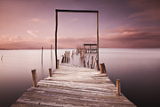 Pier Framed Prints - The passage to brightness Framed Print by Jorge Maia