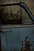 Vintage Greeting Cards Prints - The Passenger  Print by Jerry Cordeiro