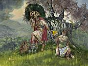 Lds Painting Originals - The Passing by Jeff Brimley