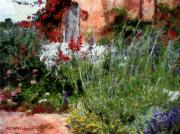 Impressionism Digital Art Prints - The Passion of Summer Print by RC DeWinter