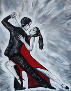Attachment Paintings - The Passion of Tango by Evolve And Express