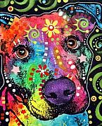 Pitbull Art - The Passion Pit by Dean Russo
