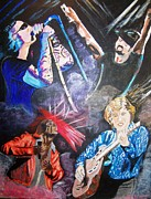 Soul Musicians Paintings - The Passions of Life by Ann Whitfield
