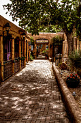 Taos Photos - The Patio Market by David Patterson