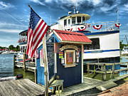 Boat Cruise Prints - The Patriot Print by Steven Ainsworth
