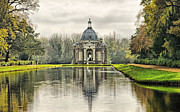 Stately Acrylic Prints - The Pavillion Acrylic Print by Chris Thaxter