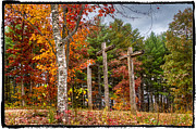 Fall Cards Prints - The Peace that passes all understanding Print by Debra and Dave Vanderlaan