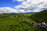 Castleton Framed Prints - The Peak District Derbyshire. Framed Print by Darren Burroughs