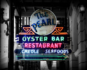 Neon Art - The Pearl by Perry Webster