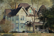 Old Houses Posters - The Pecan Inn Poster by Jan Amiss Photography