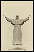 John Digital Art - The Peoples Pope - John Paul II by Bill Cannon